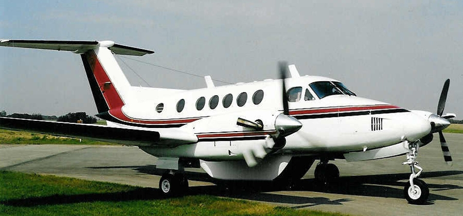 Super King Air commuter charter aircraft